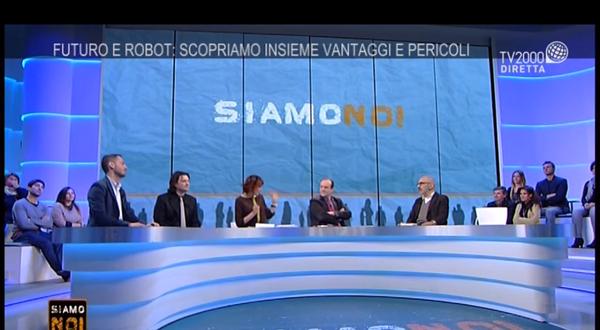 Il nostro Chief Technology Officer, Nicola Picone, è stato invitato a discutere di Intelligenza Artificiale durante la puntata Siamo Noi, in onda su tv2000.
